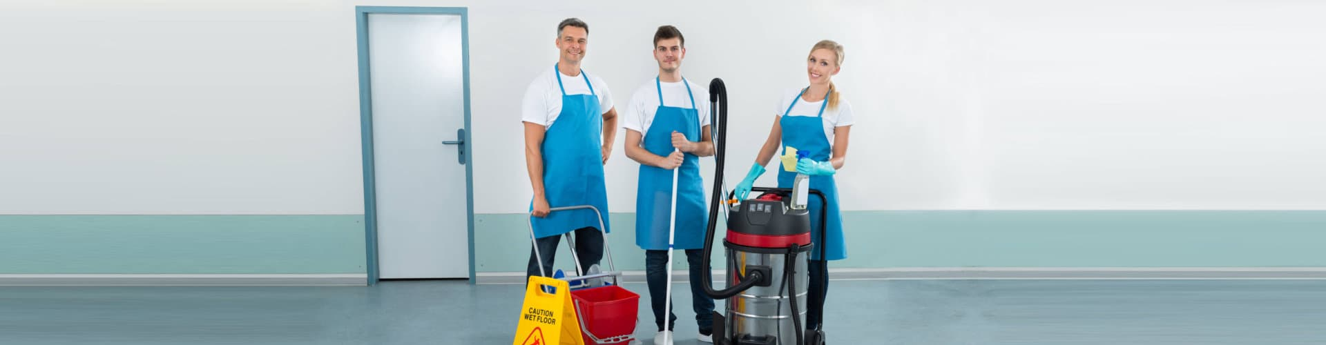happy three cleaners